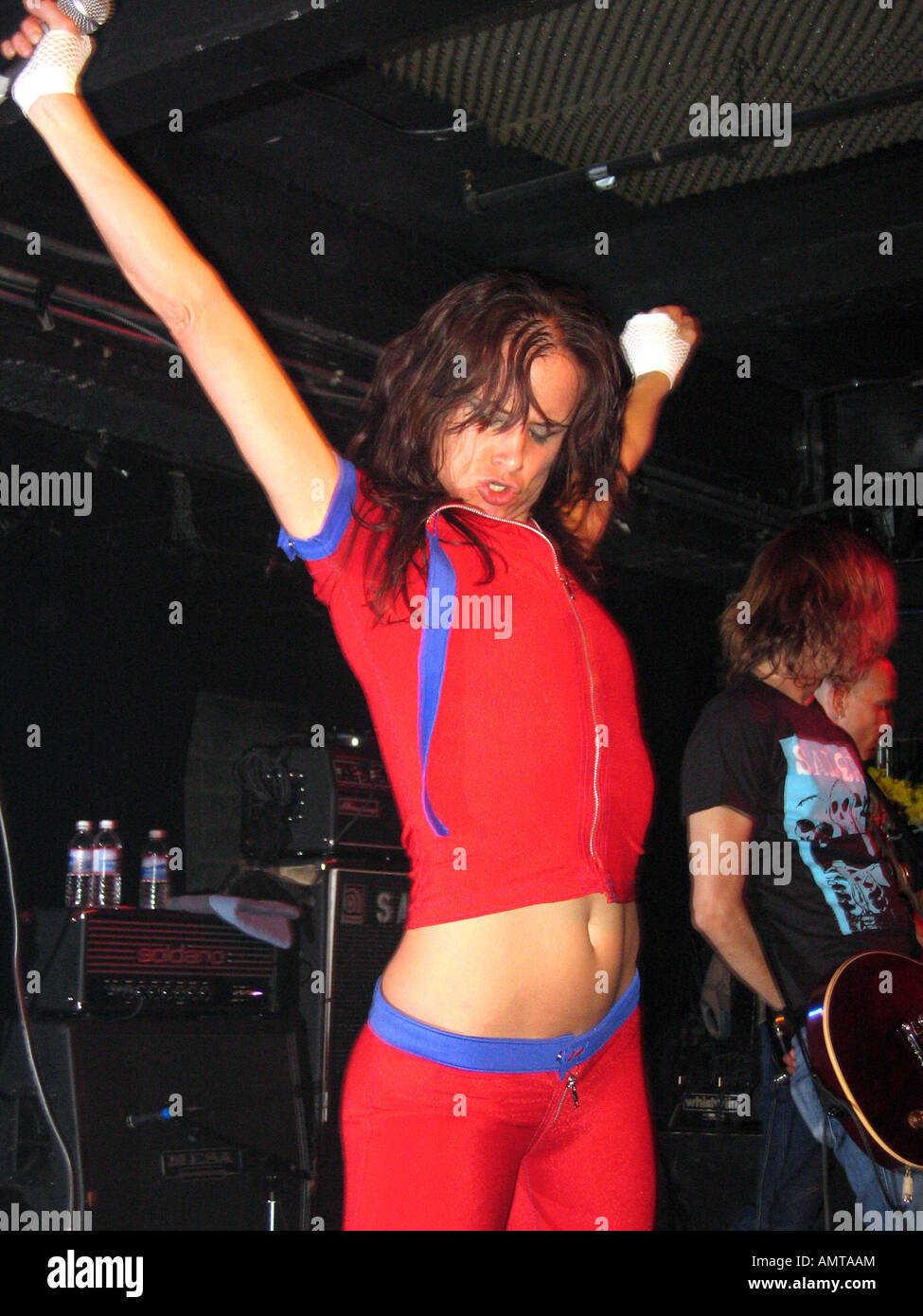 Juliette Lewis Of Juliette And The Licks Performs At The Black Cat