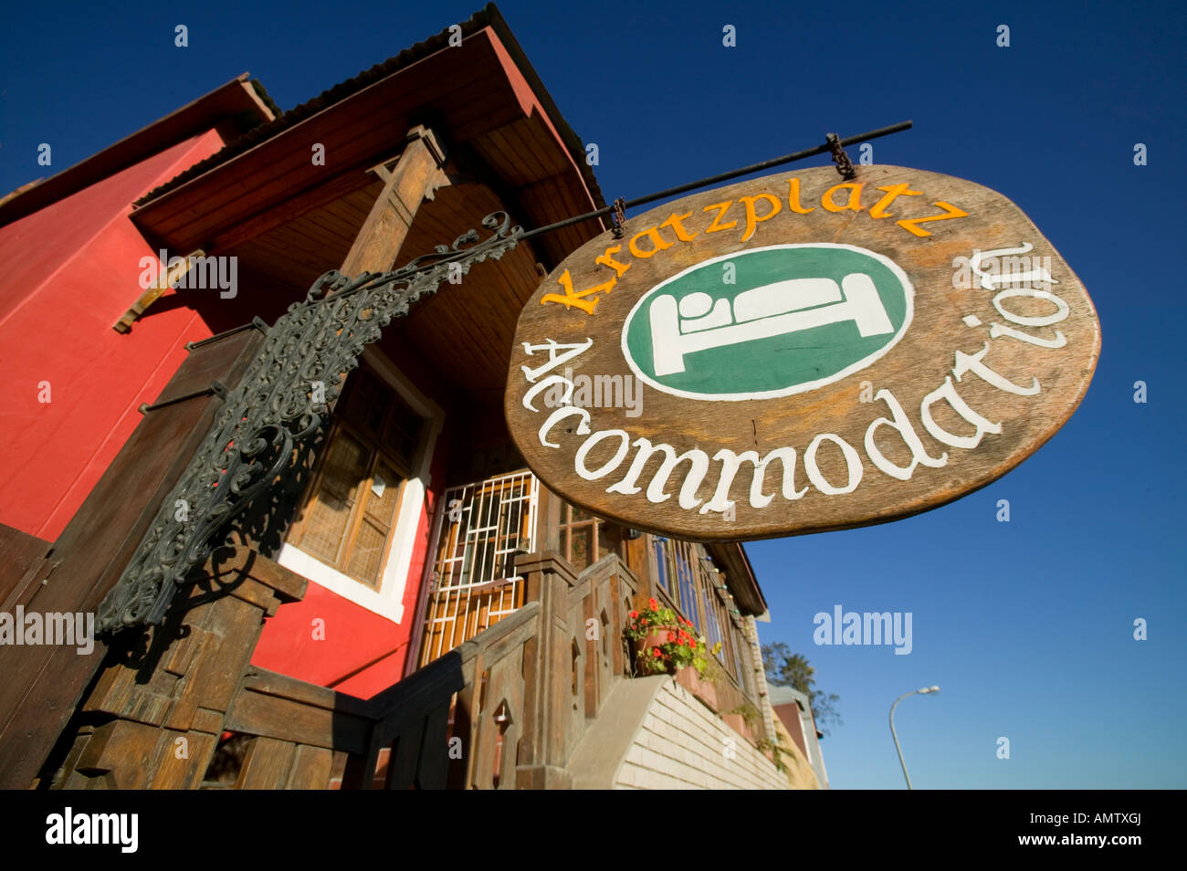 hotel, acommodation, house, Africa, Sudafrica, poster, detail, colors, poster, dreams - Stock Image