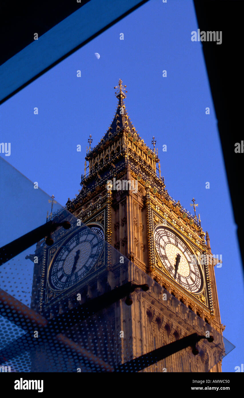 Big Ben, Houses of Parliament, London, 1840 - 1888. Architect: Sir Charles Barry - Stock Image