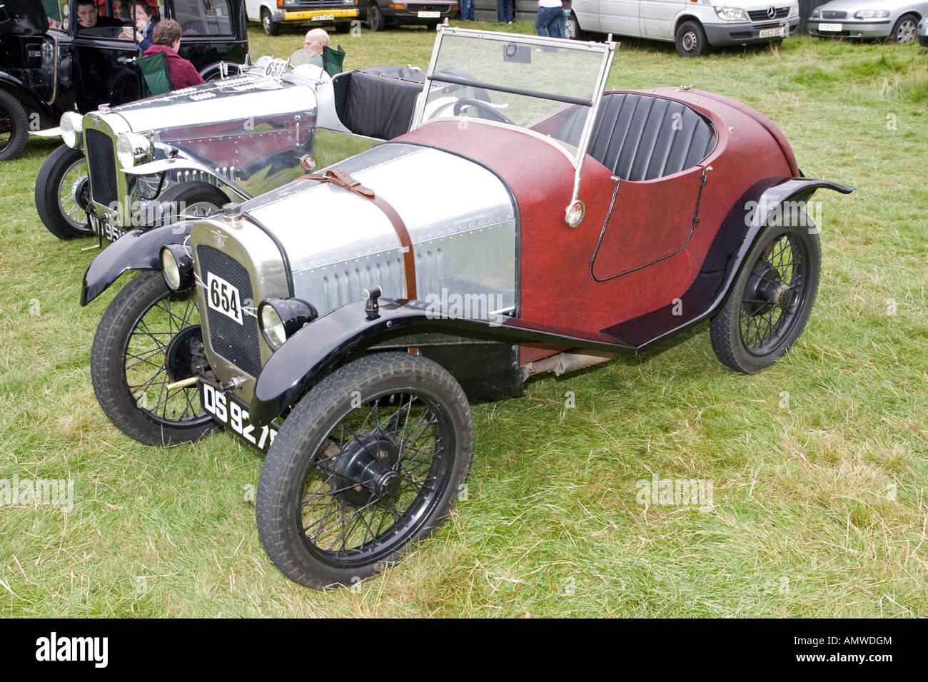 Vintage Austin 7 sports cars Moreton Agricultural Show 2007 UK Stock ...