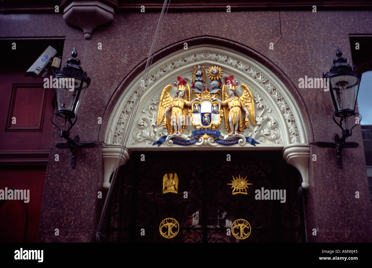 Tallow Chandlers Hall, Dowgate Hill,  London, England EC4 - Stock Image