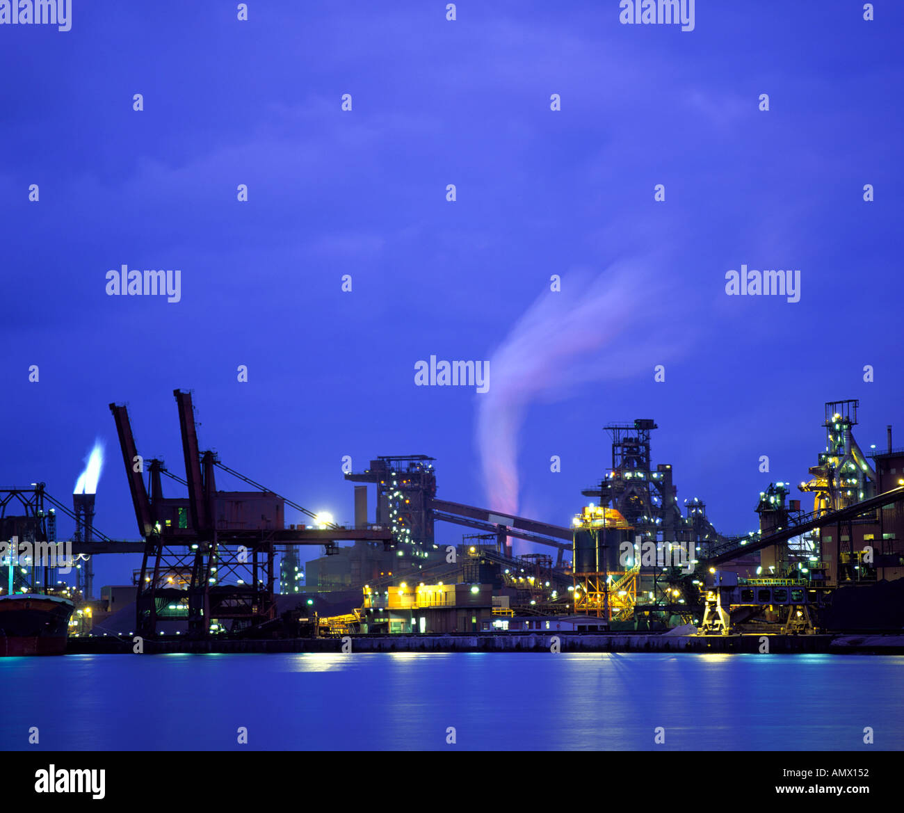 Heavy Industry - Stock Image
