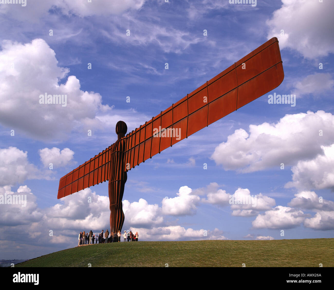 GB - TYNE AND WEAR: Angel of the North near Gateshead - Stock Image