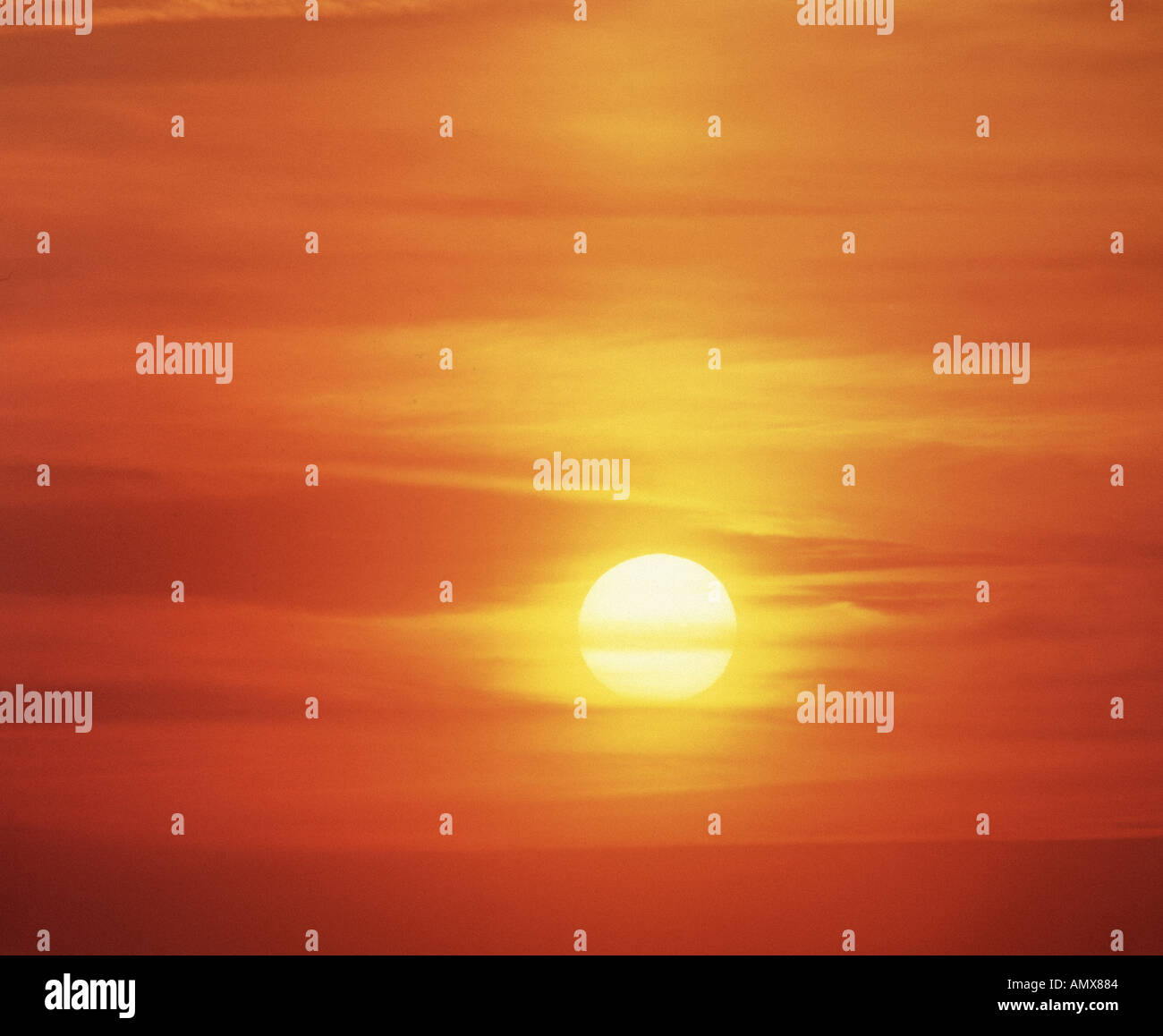 Sky, Sunset - Stock Image