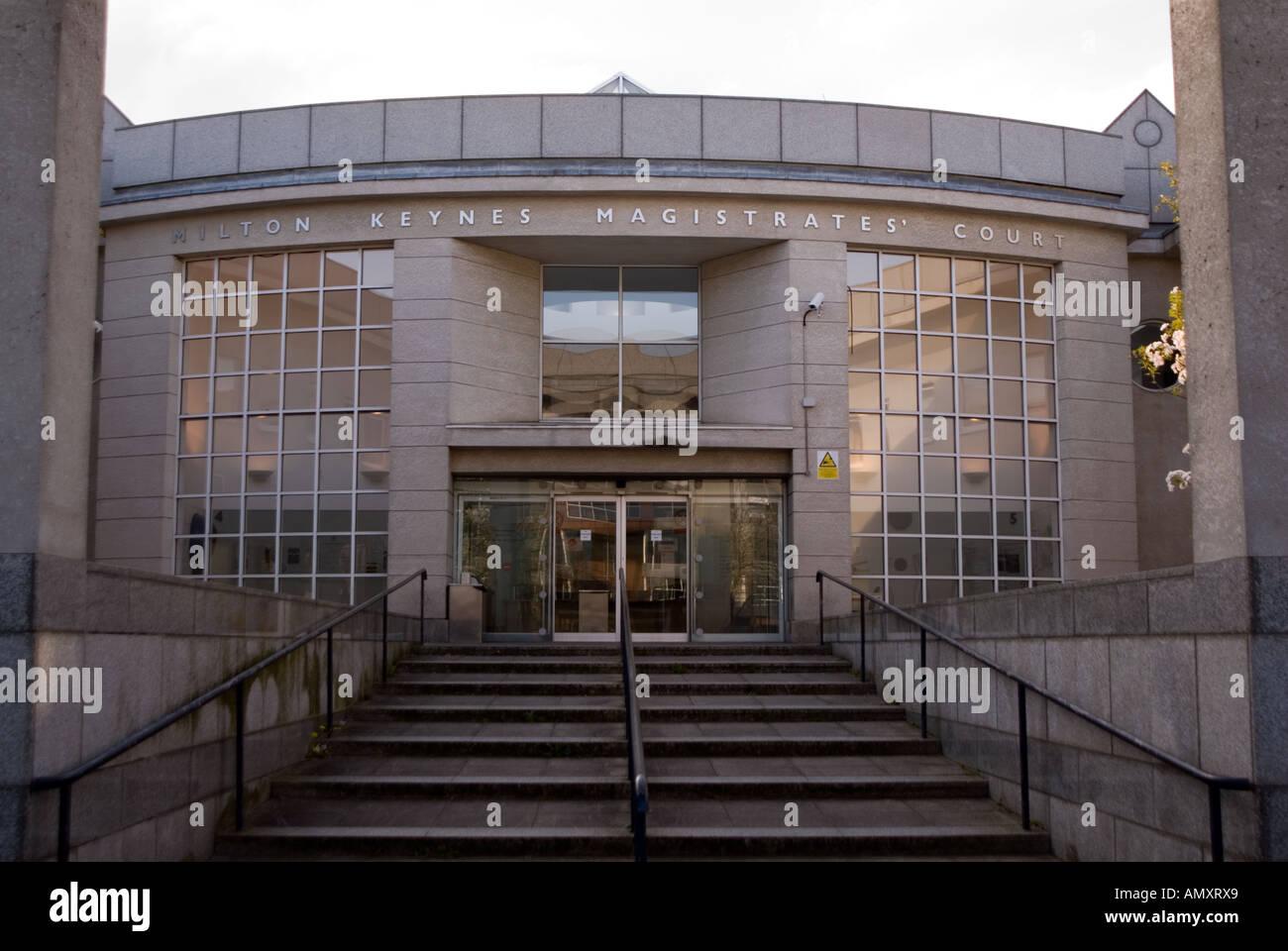 City of Milton Keynes Magistrates Court - Stock Image