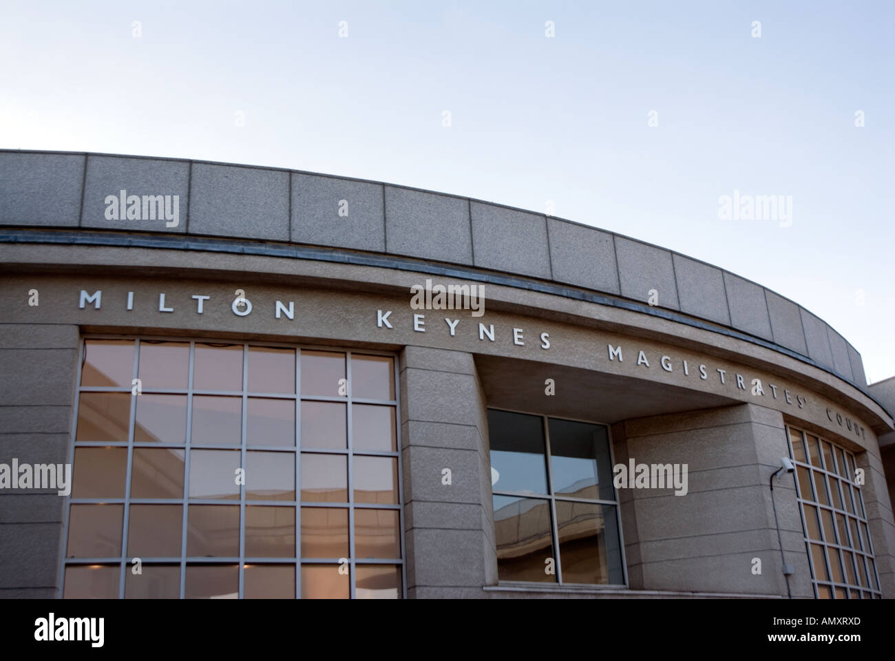 City of Milton Keynes Magistrates Court - Stock Image