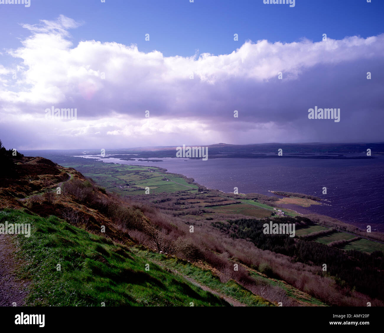 Lower Lough Erne Co Fermanagh - Stock Image