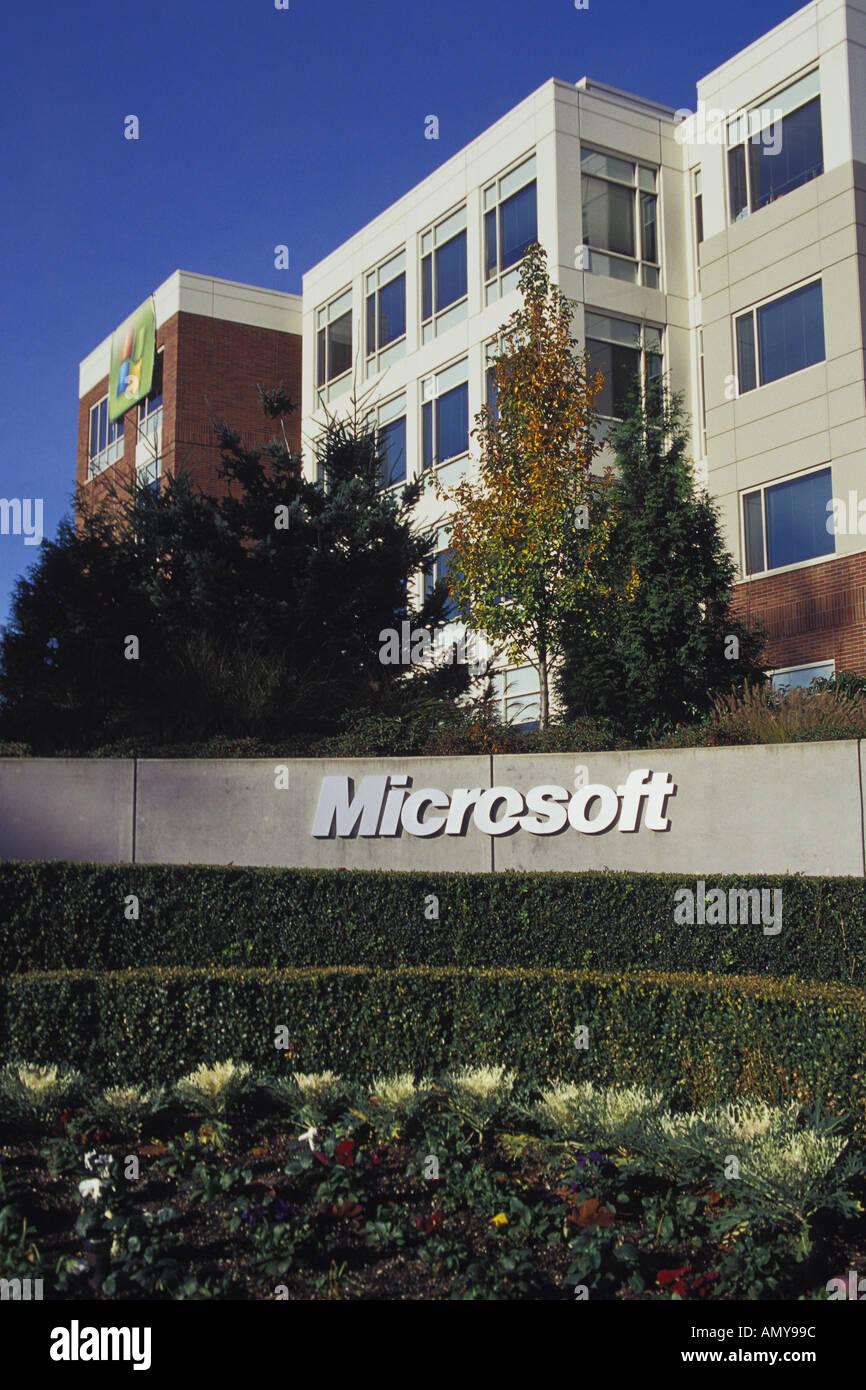 photo microsoft office redmond washington. Microsoft Corporation Campus Redmond Washington USA - Stock Image Photo Office S
