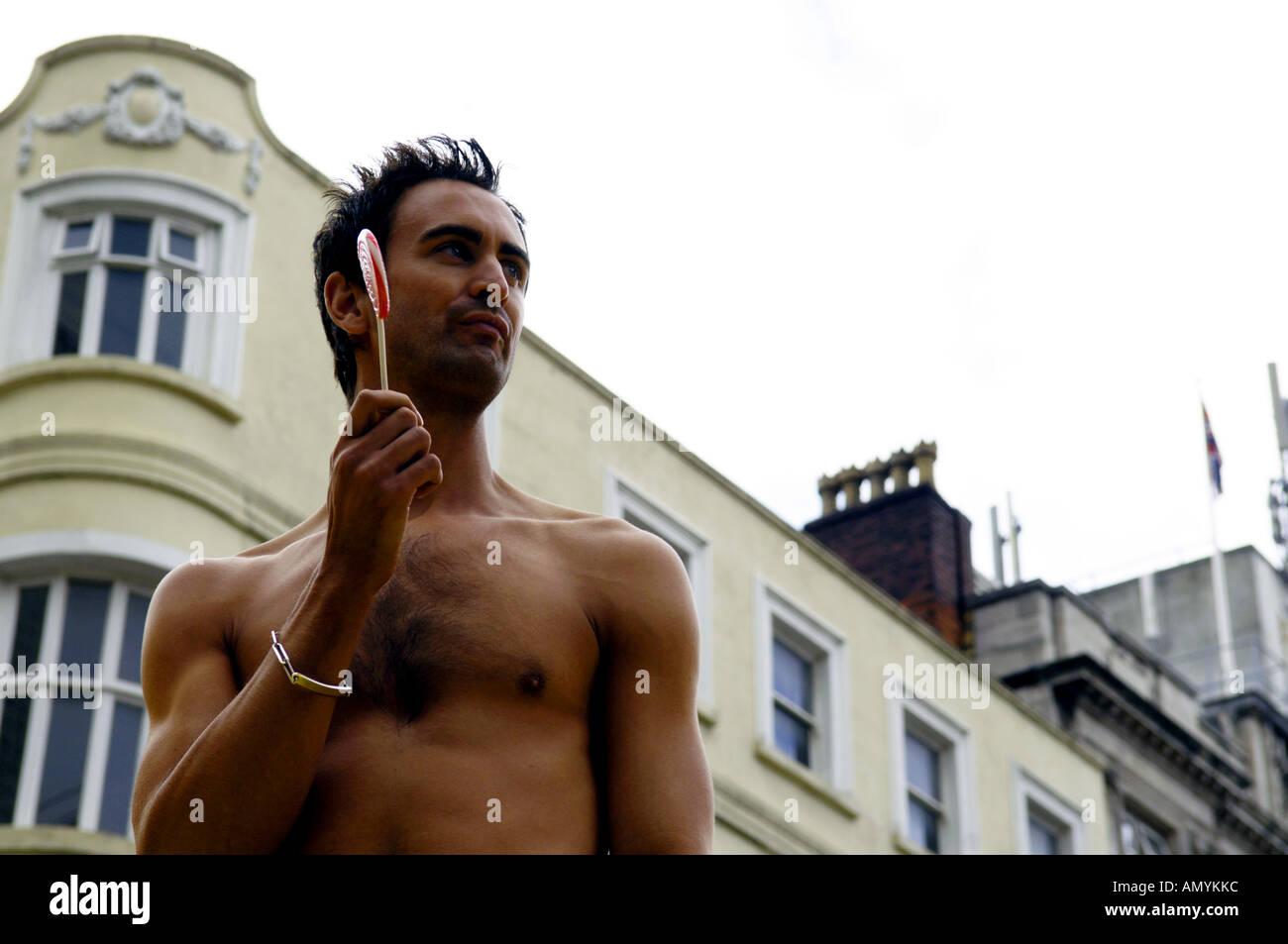 Hunky man naked #9