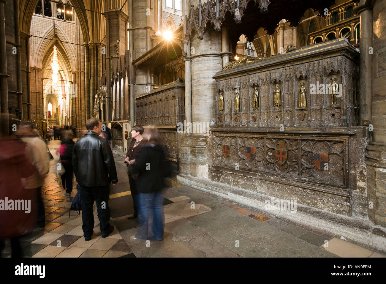 Uk London Westminster Abbey Tombs Of Edward Iii And
