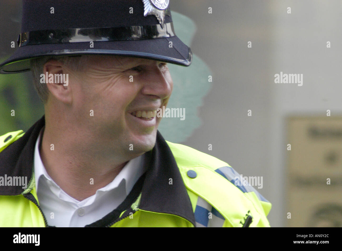 Thames Valley police officer PC Paul Phillips QPM - Stock Image
