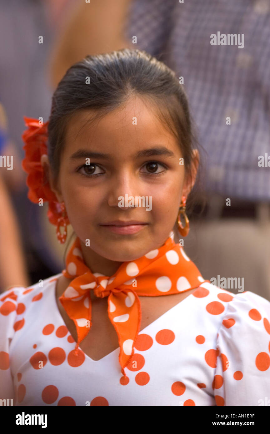 young spanish girl