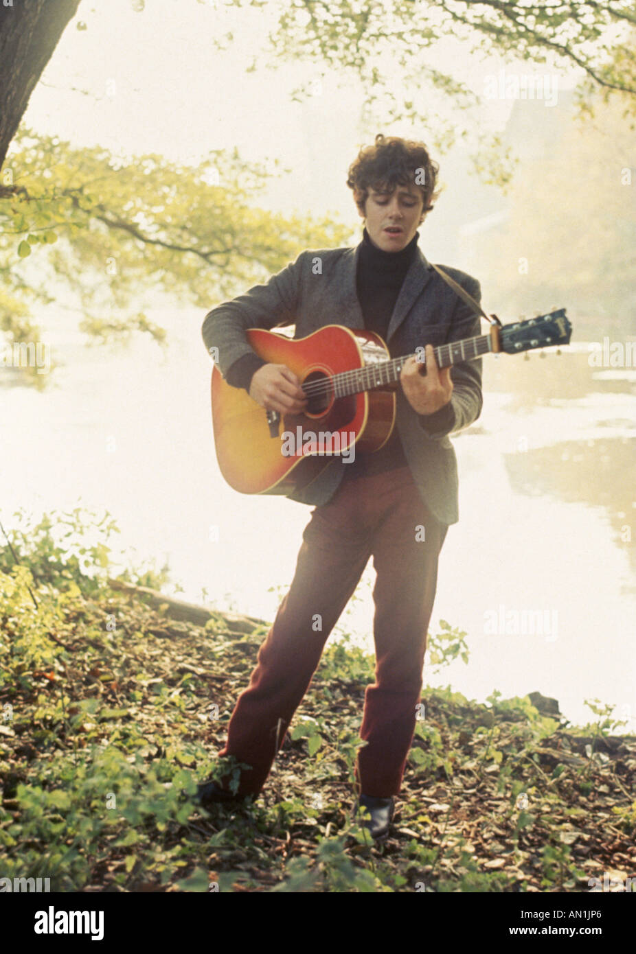 DONOVAN  Leitch - Scottish folk singer about 1965 - Stock Image