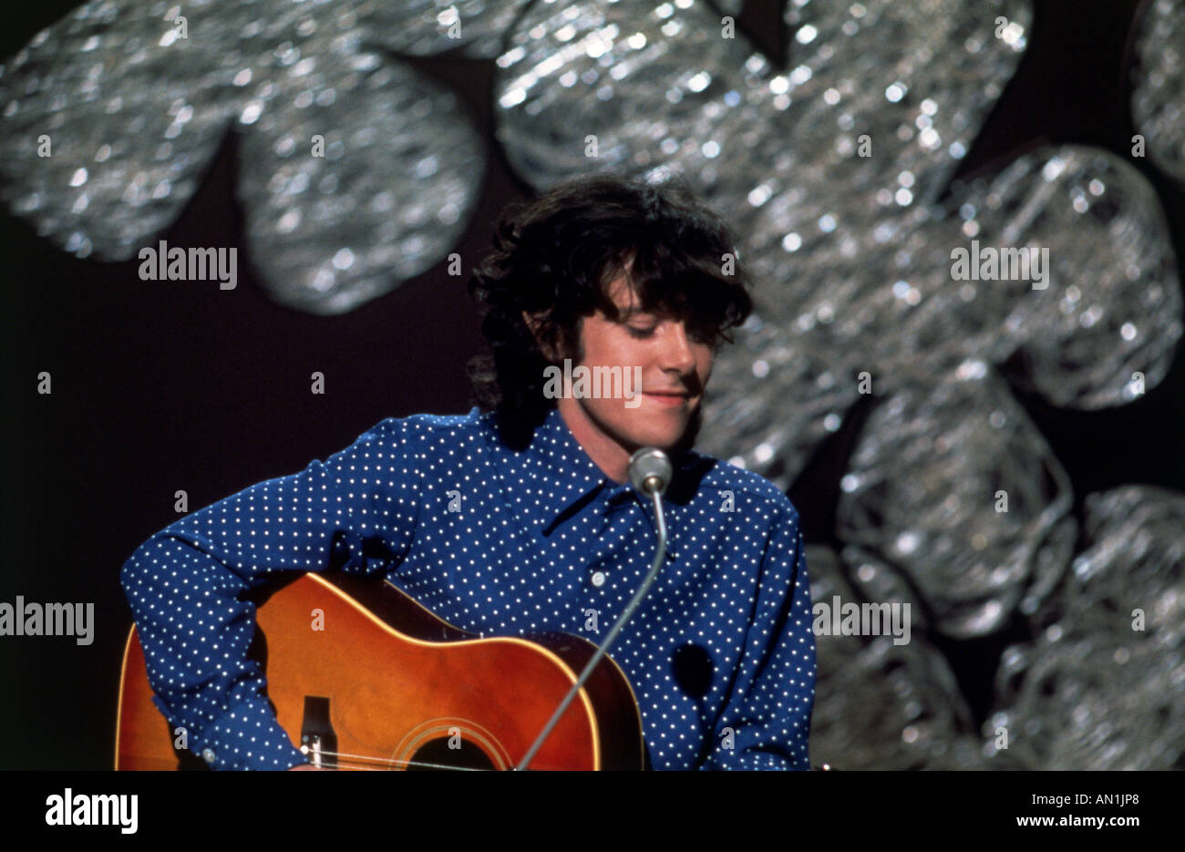 DONOVAN Leitch - Scottish folk singer in 1967 - Stock Image