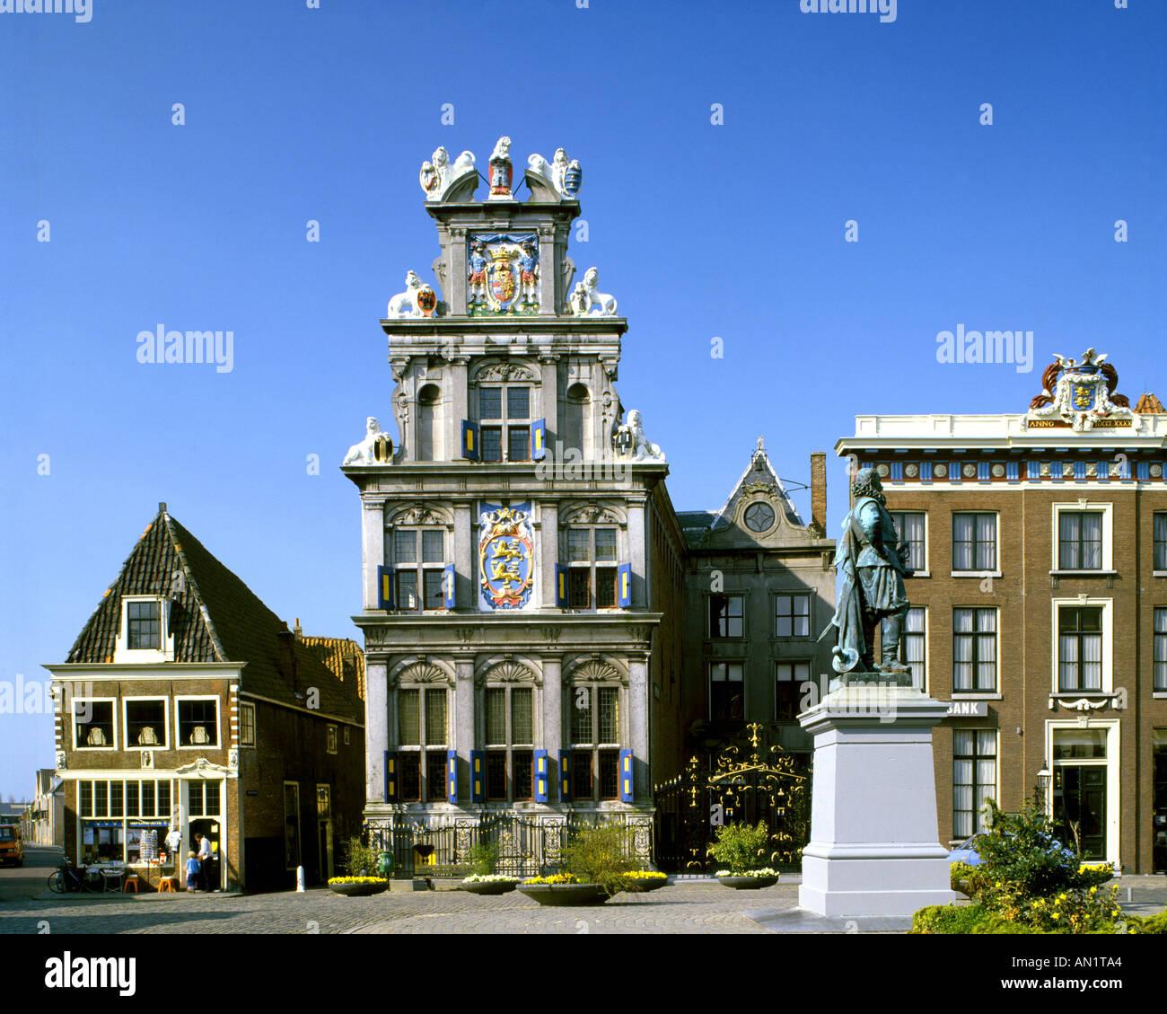 NL - NOORD HOLLAND: Westfries Museum in Hoorn - Stock Image