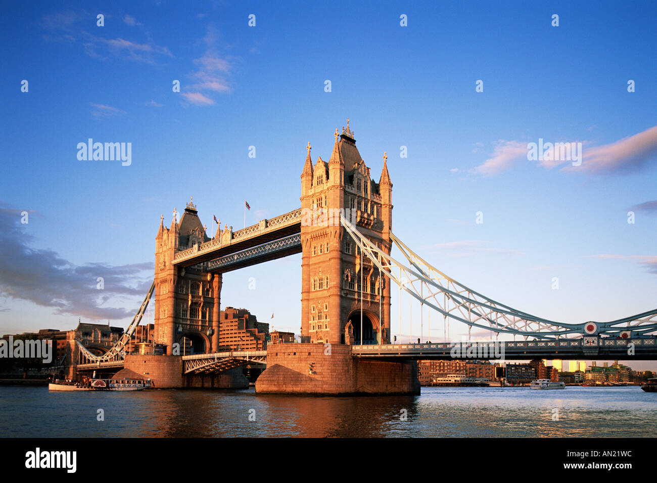 England, London, Tower Bridge - Stock Image
