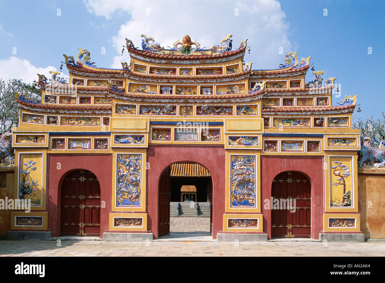 The Citadel Imperial Palace Forbidden Purple City Gate Stock Photo Alamy