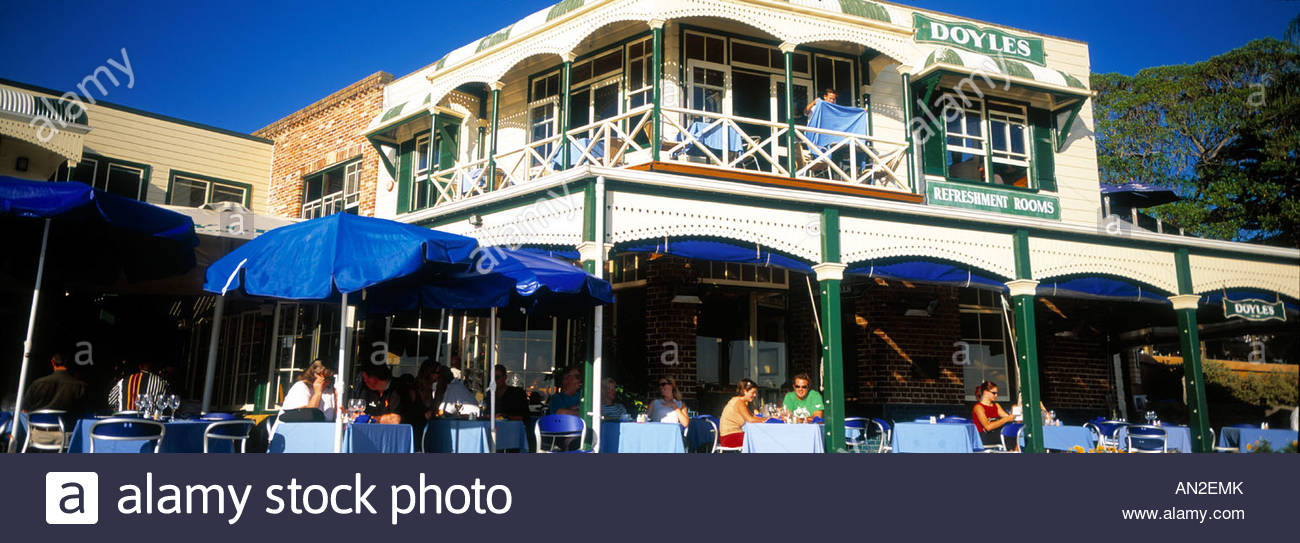 Watsons Bay, Doyles Restaurant - Stock Image