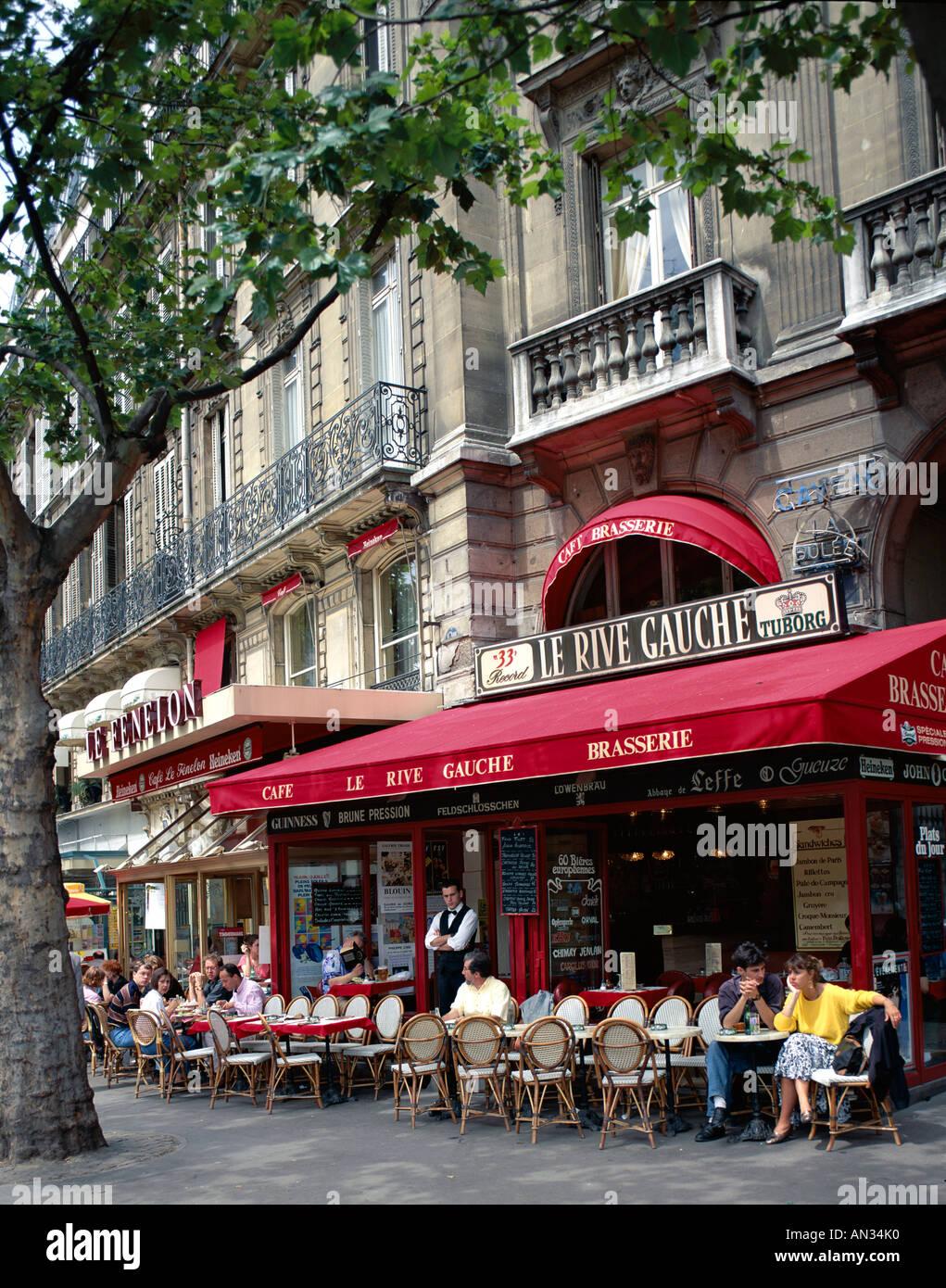 Cafe Paris Rive Gauche