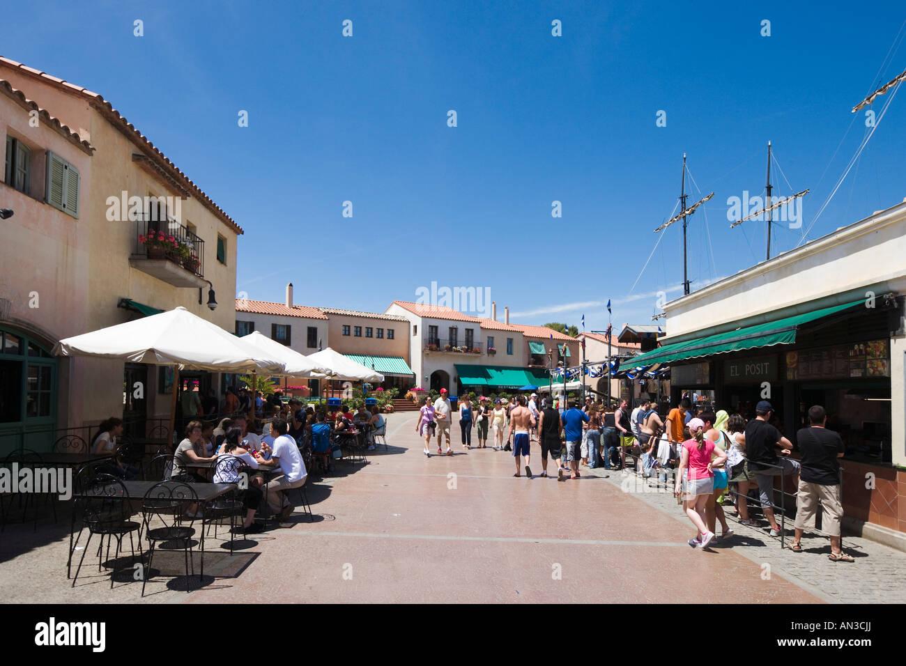 Cafes And Restaurants Port Aventura Theme Park Near Salou
