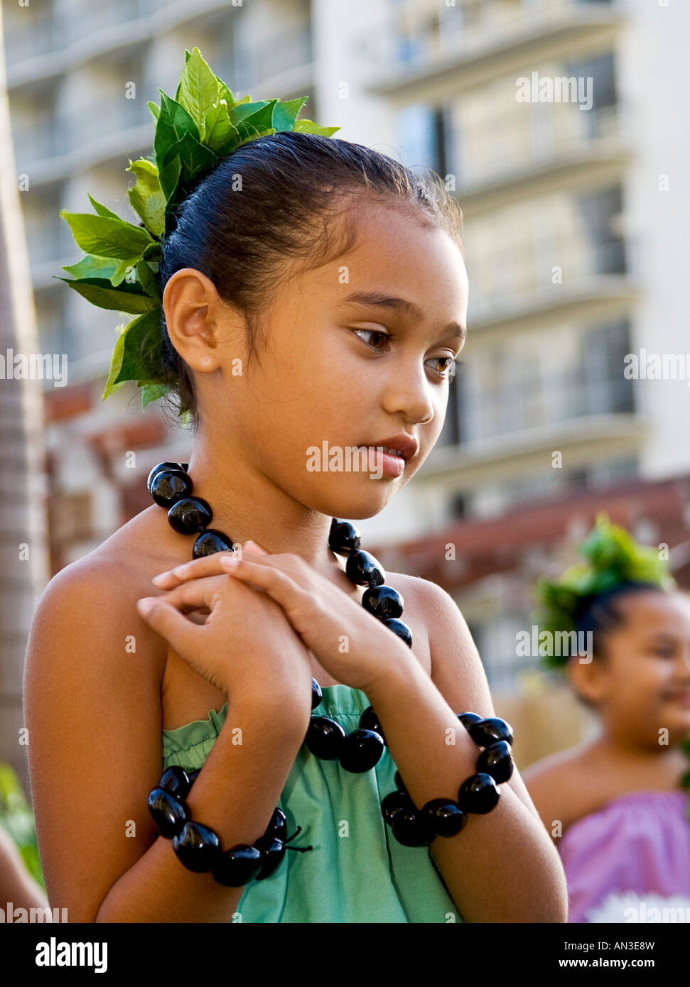 Hawaiian Girls High Resolution Stock Photography And Images Alamy