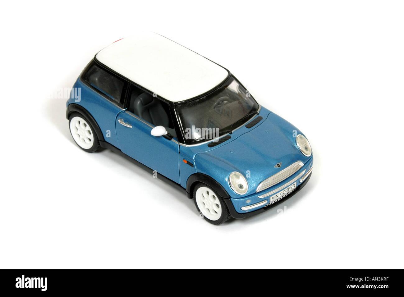 A replica toy Mini Cooper - Stock Image