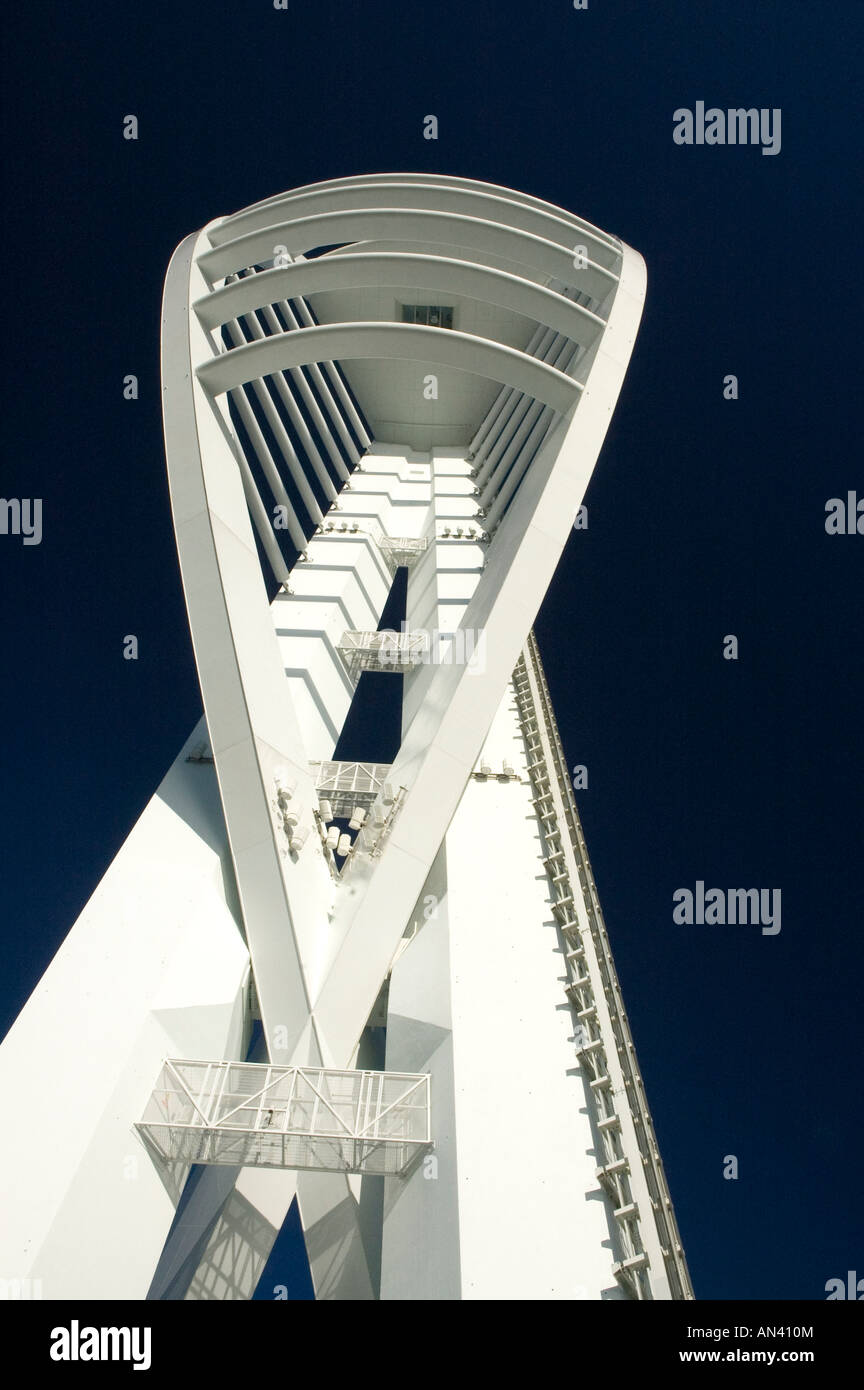 Spinnaker Tower Gunwharf Quays in Portsmouth Hampshire England UK Stock Photo