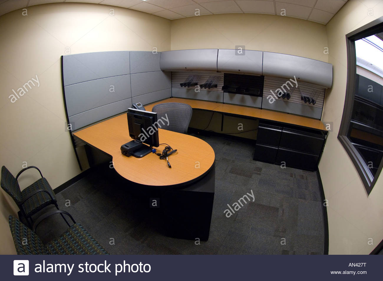 New Office Furniture Installed In Police Station Tucson Arizona, This Is  The Lieutenant Captains Office Would Be A Managers