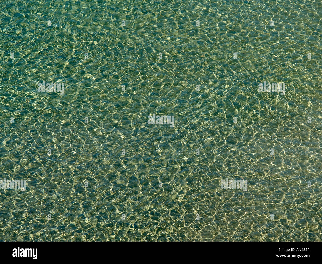 Ripples Of Sea Water - Stock Image