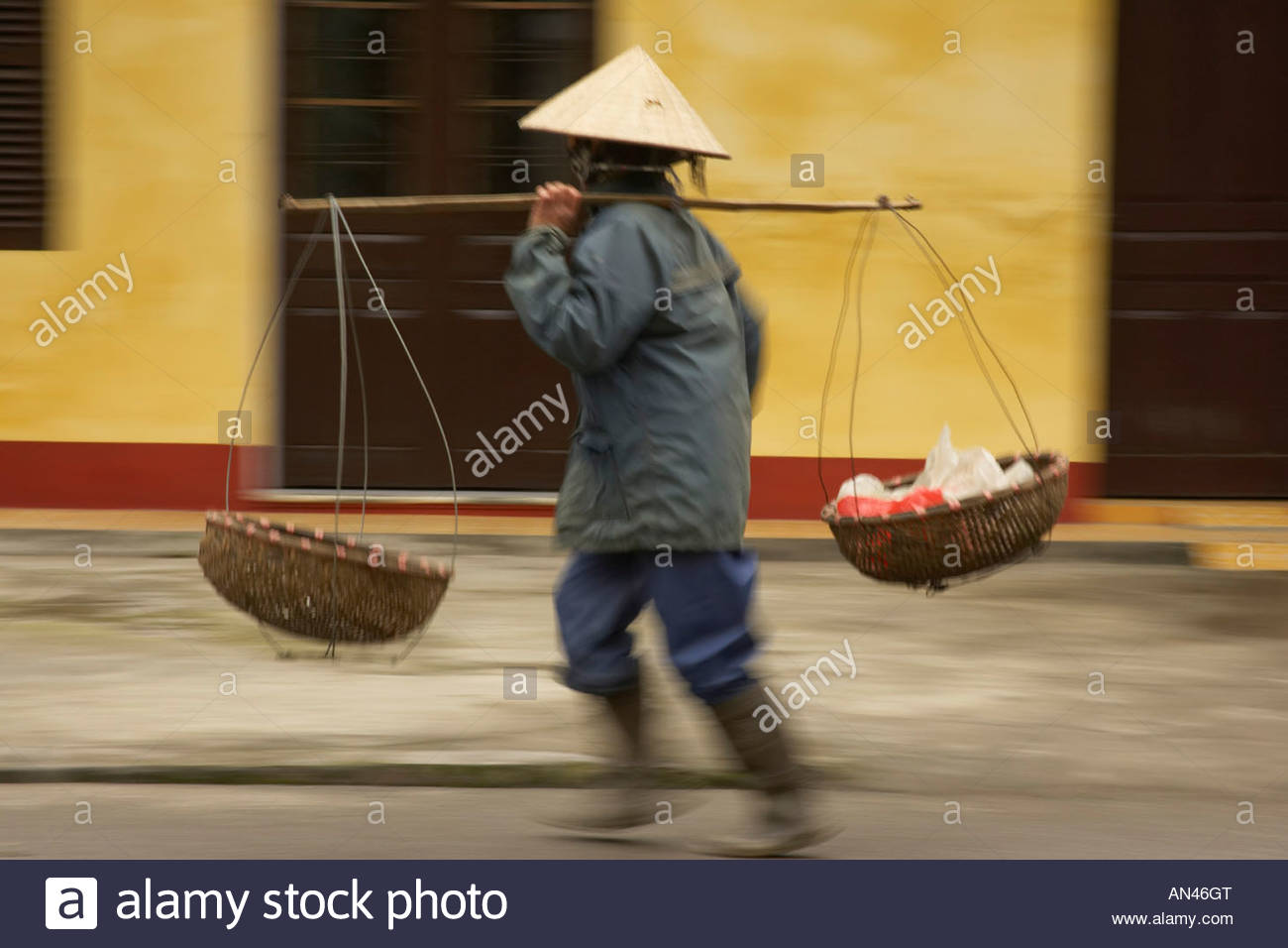 North Vietnam, Nimh Binh Stock Photo