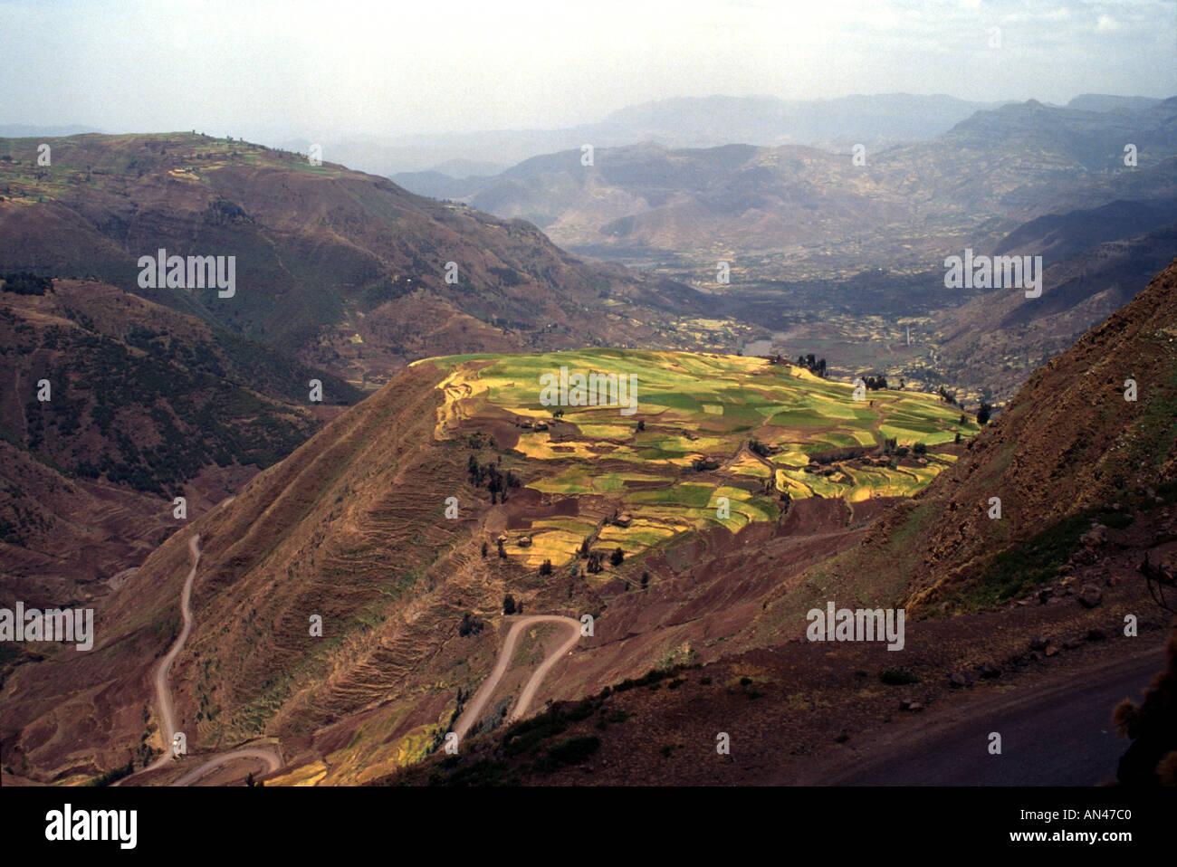 Near Weldiya Welo Province Ethiopia Africa - Stock Image