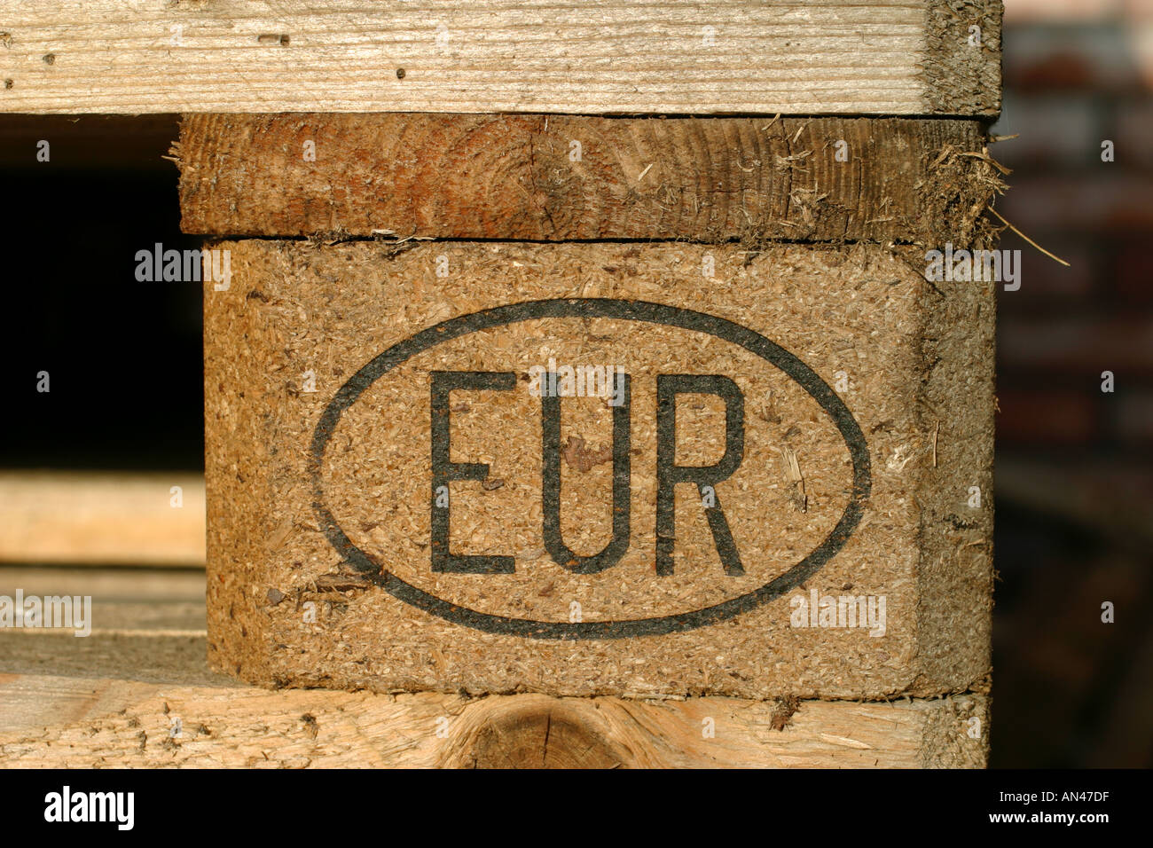 EUR brand, standard approved issue - Stock Image
