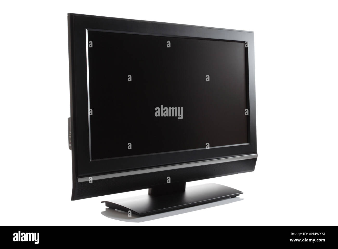 LCD high definition flat screen TV - Stock Image