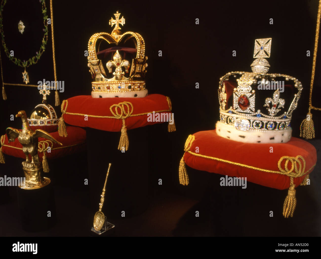 England Crown jewels - Stock Image