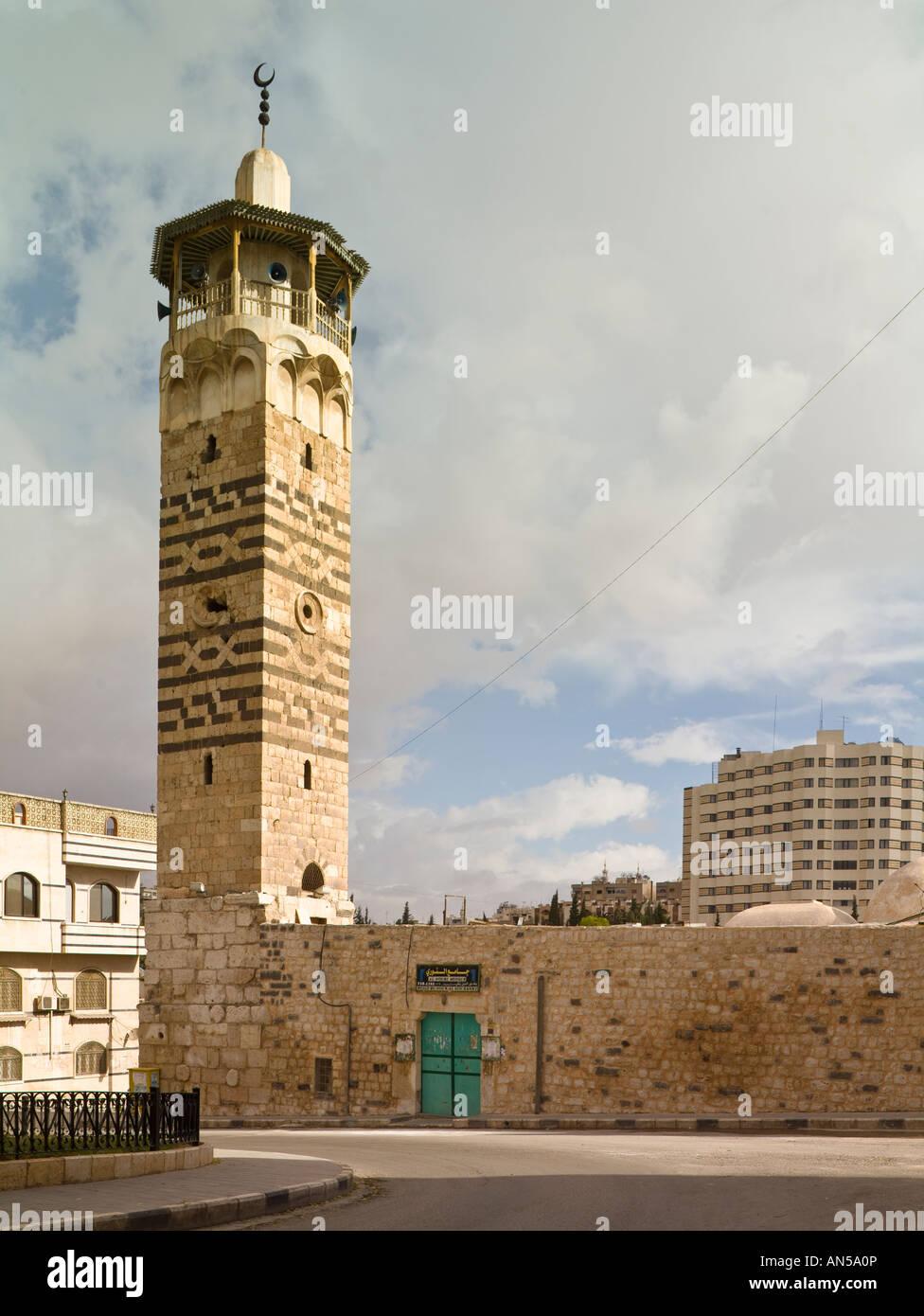 Mosque of Nur al-Din, Hama, Syria - Stock Image