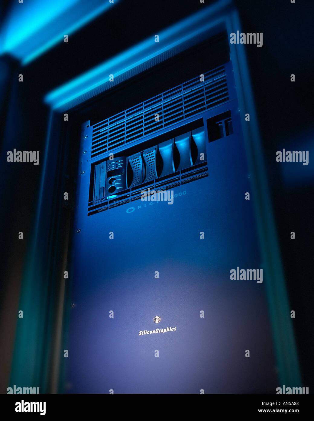 SILICON GRAPHICS ORIGIN 2000 COMPUTER - Stock Image