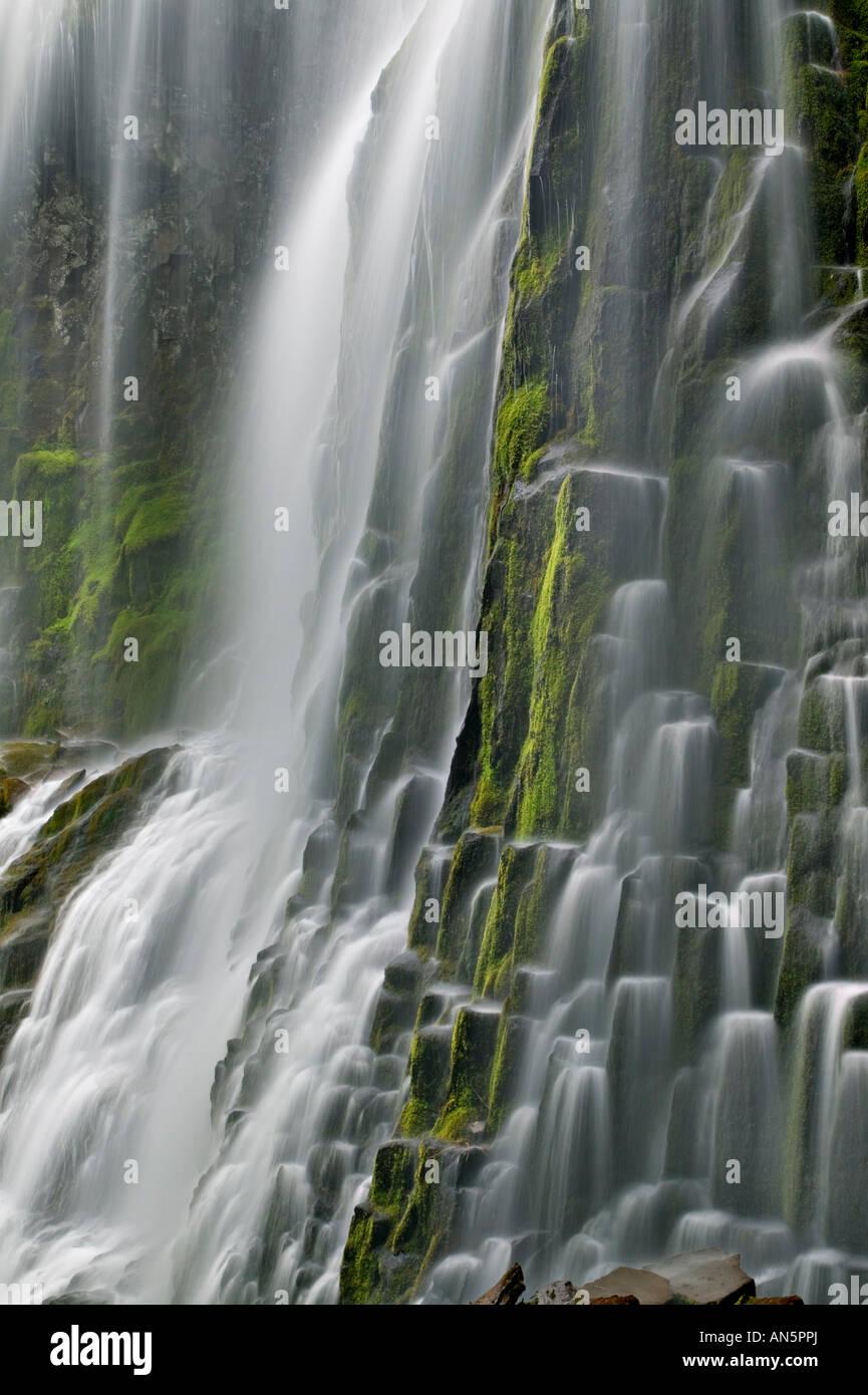 Proxy Falls detail - Stock Image