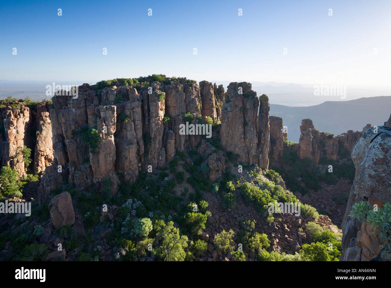 The Valley of Desolation Karoo Nature Reserve Graaff Reinet South Africa - Stock Image