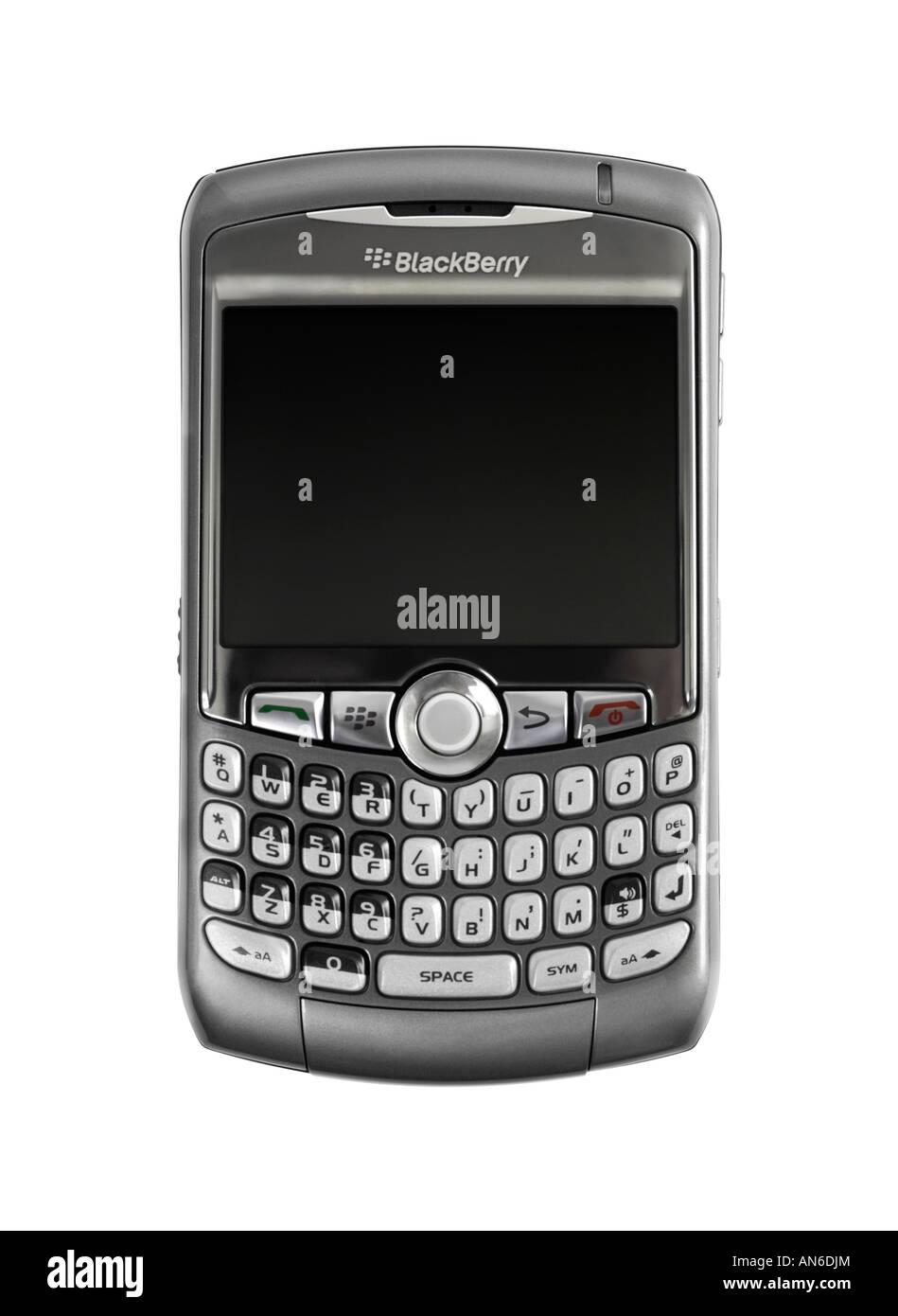 BlackBerry 8310 Curve Smartphone - Stock Image