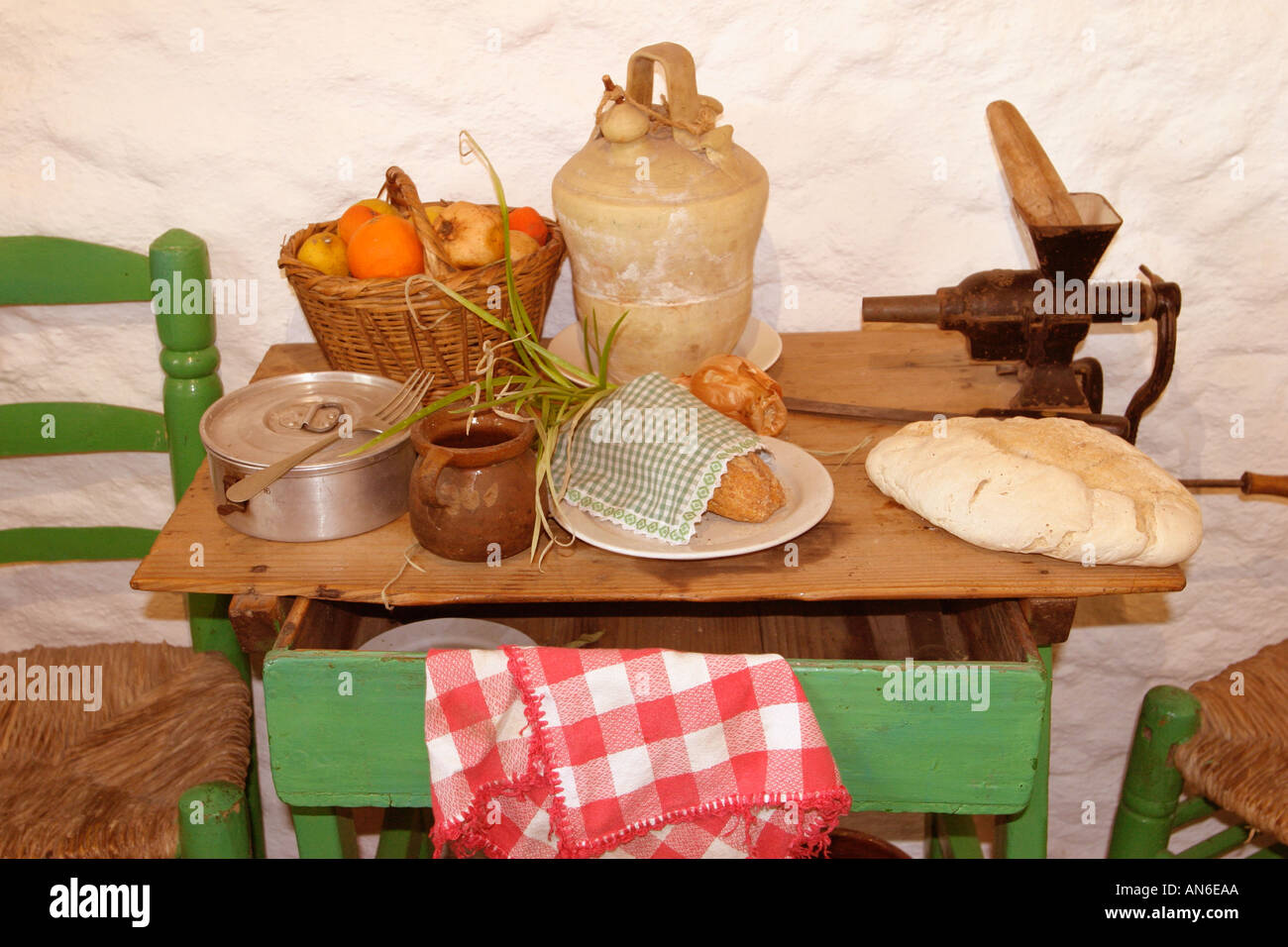 Food in the Russian village of the late XIX century