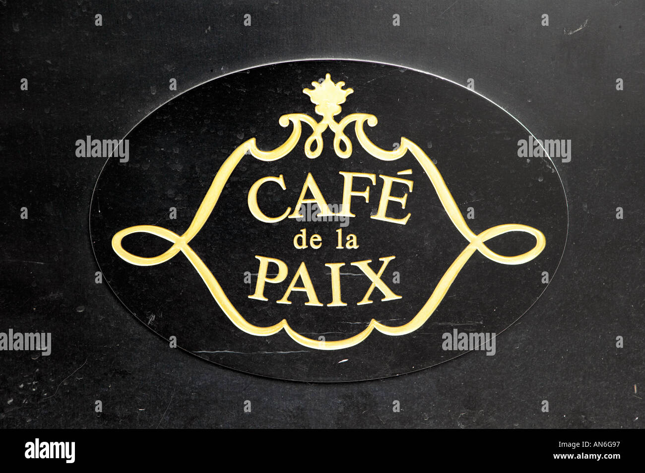 Cafe De La Paix Paris Opera House Paris France Stock Photo Alamy