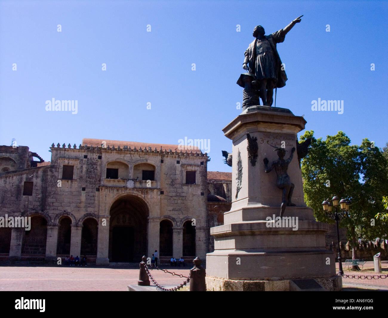 Christopher Columbus Statue, Parque Colon, Santo Domingo