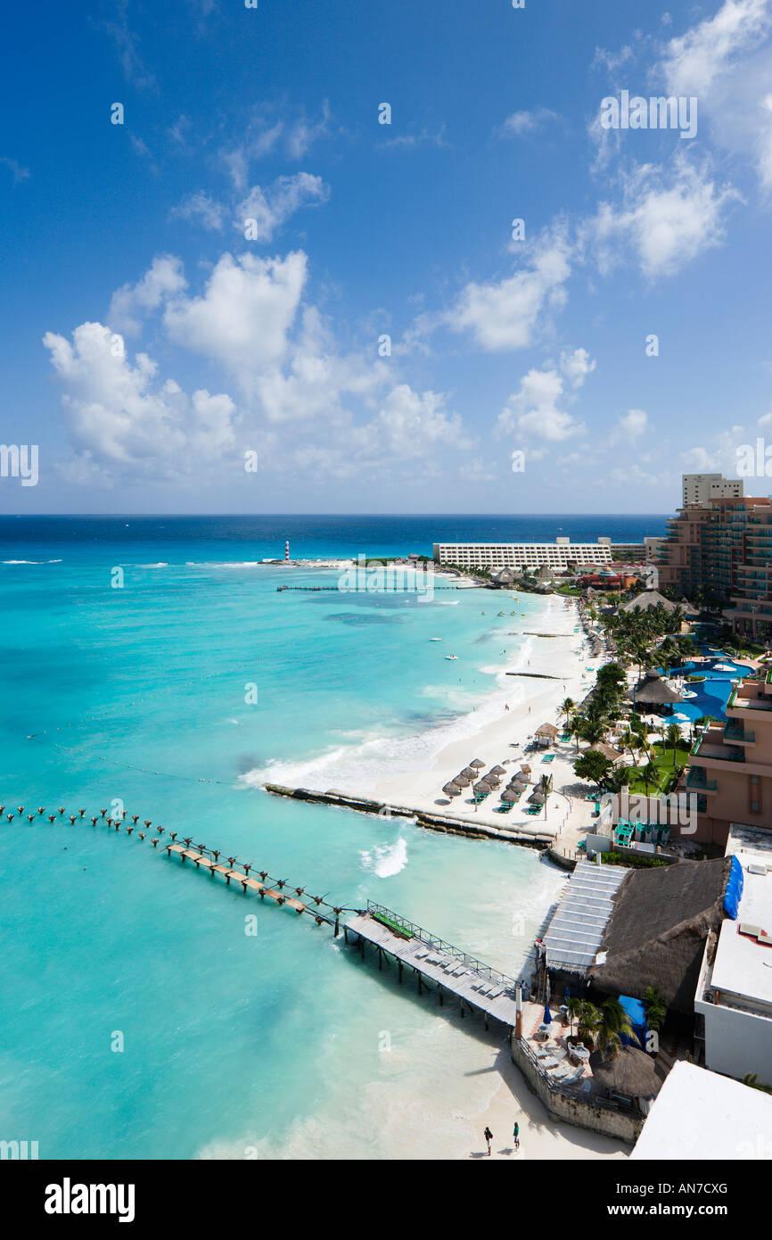 Beach Near Riu Cancun Hotel Cancun Yucatan Peninsula Quintana Roo