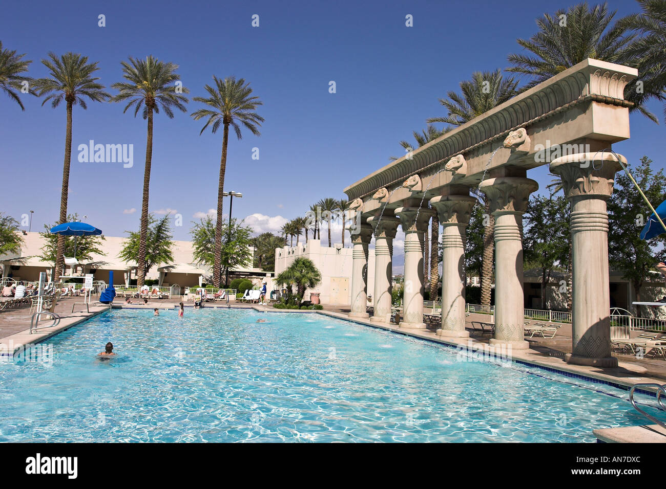 Luxor hotel pool stock photos luxor hotel pool stock - Luxor hotel las vegas swimming pool ...