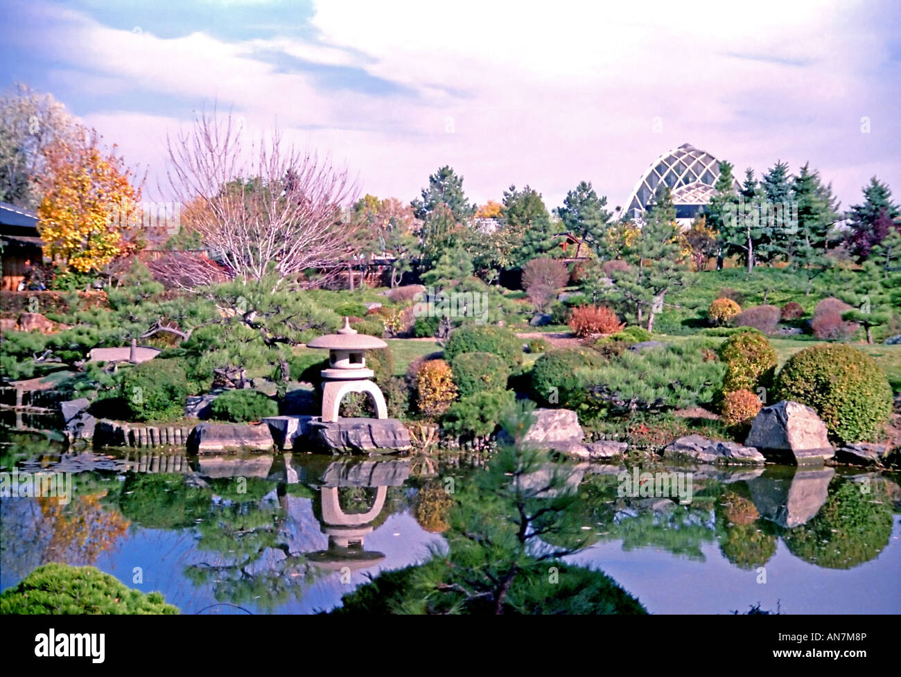 The Lush And Beautifully Sculpted Denver Botanic Gardens In Colorado Stock Photo 15439077 Alamy