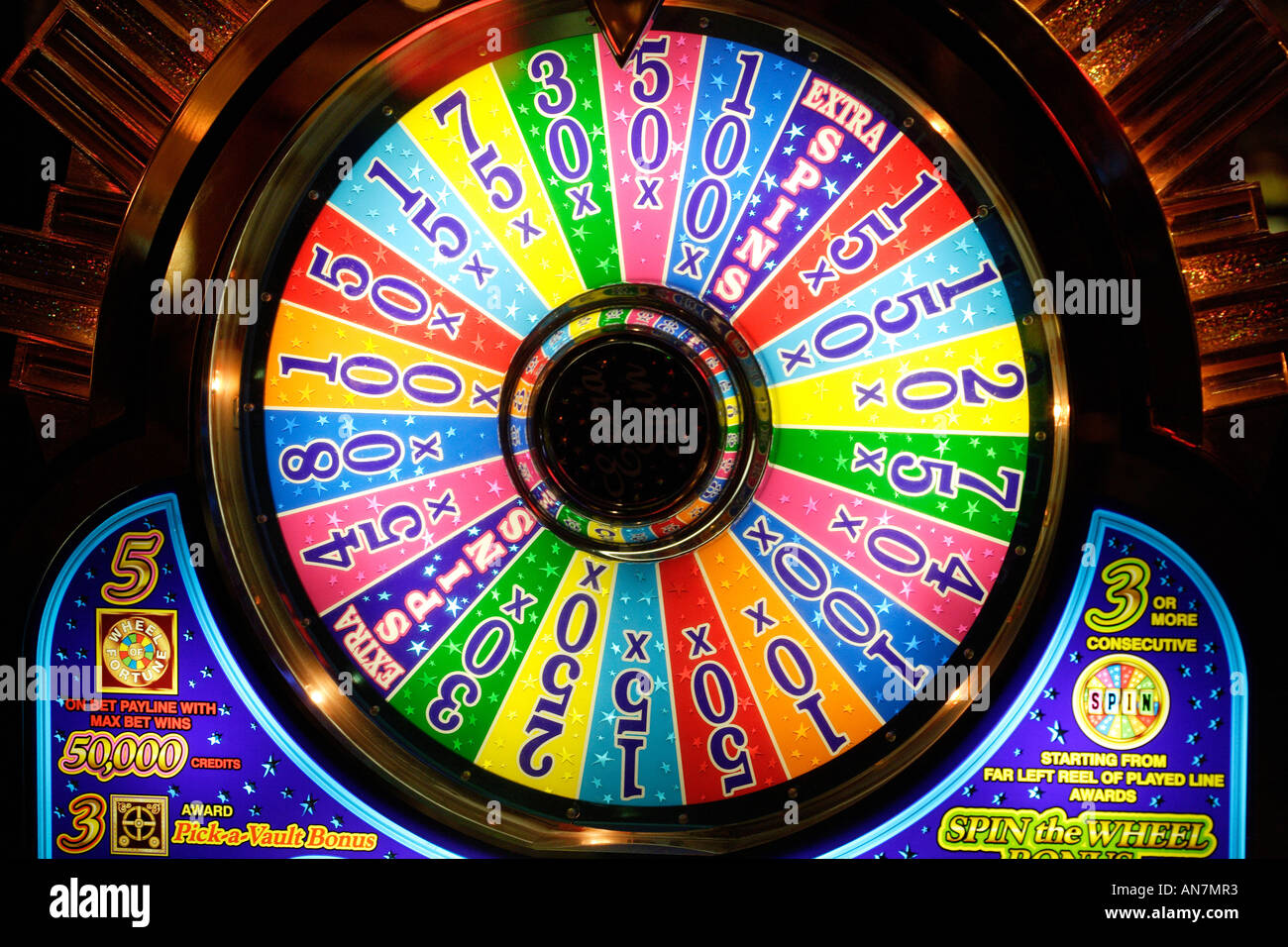 Wheel Of Fortune Casino Slot Machine