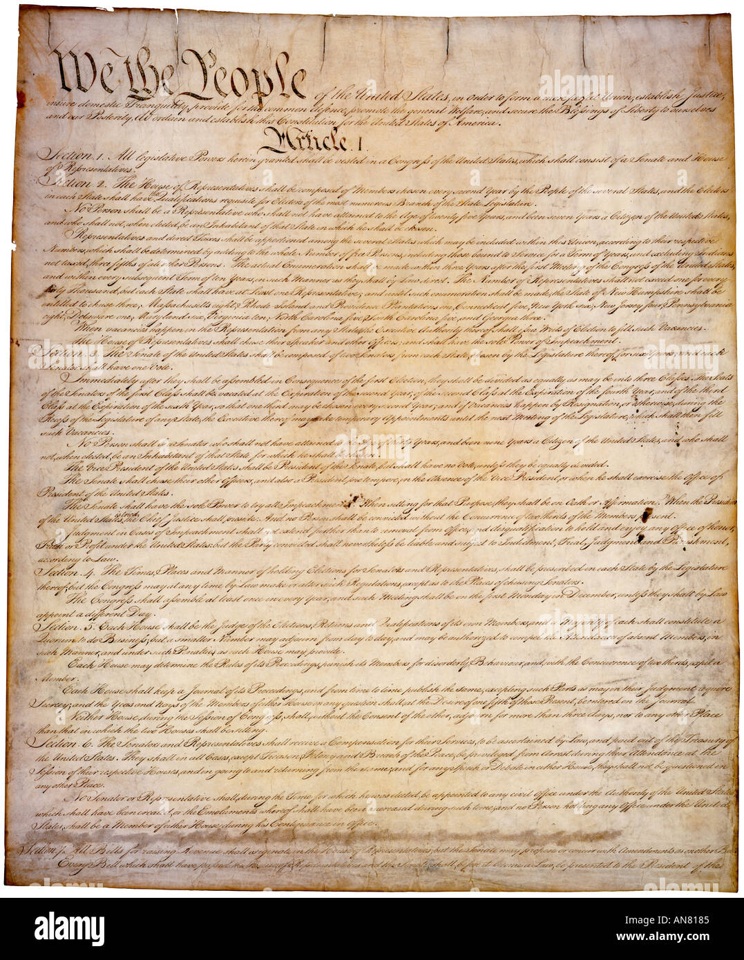 What Is The Constitution Of The United States