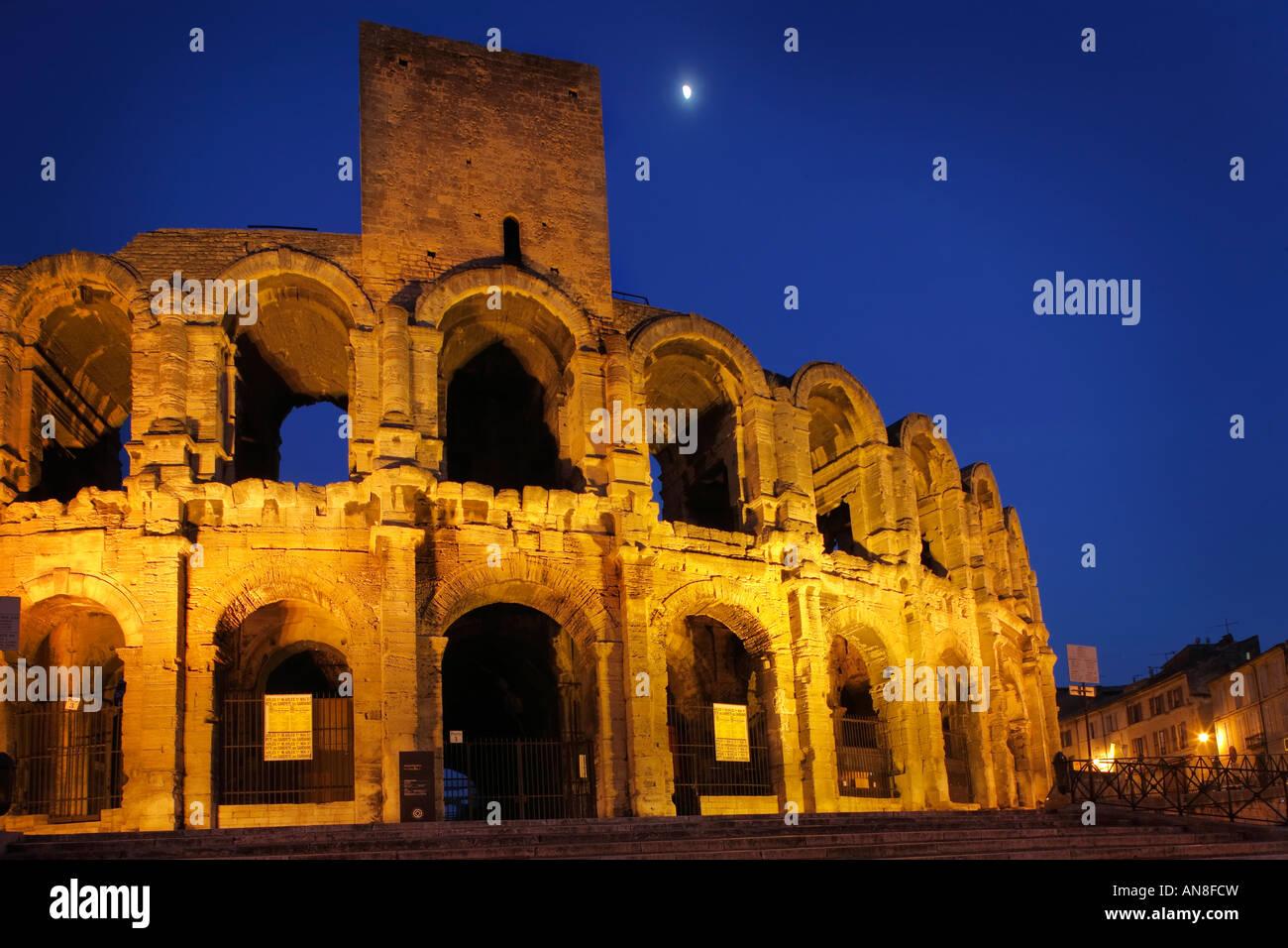 Arles Roman Arena - Stock Image