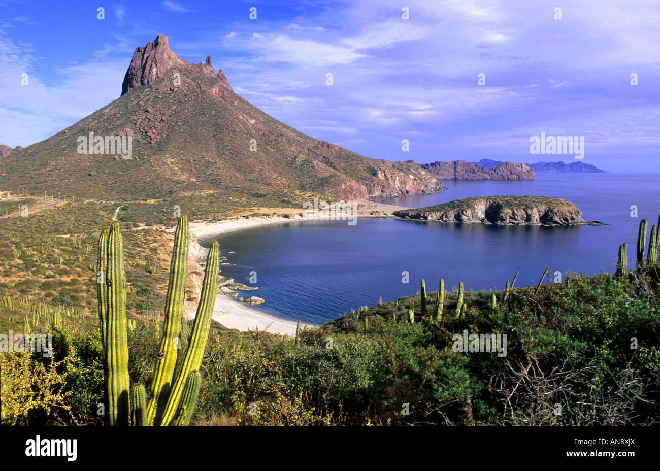 Cerro Tetakawi San Carlos Mexico Stock Photo 15450625 Alamy