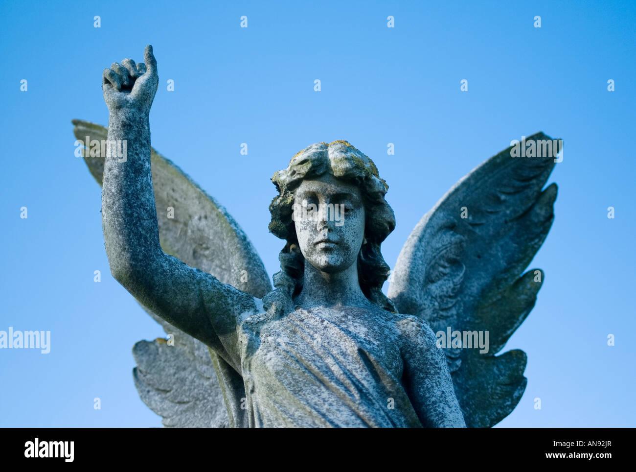 Sacral Angel - Stock Image